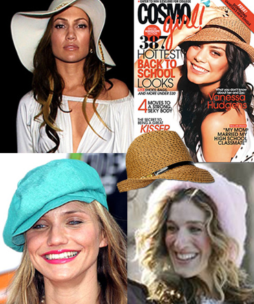 Celebs love Eugenia Kim's hats - JLo, Vanessa Hudgens, Cameron Diaz, Carrie Bradshaw