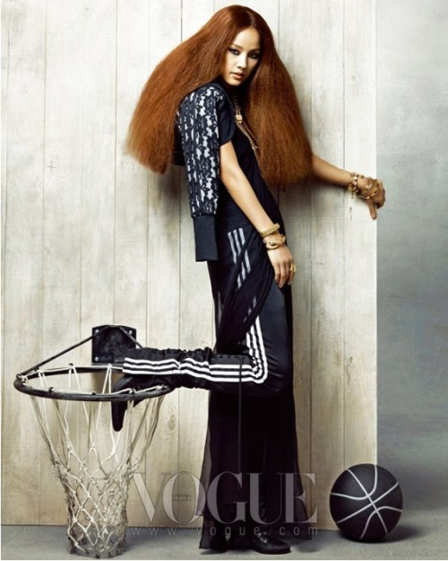Hyori Lee in Vogue Korea