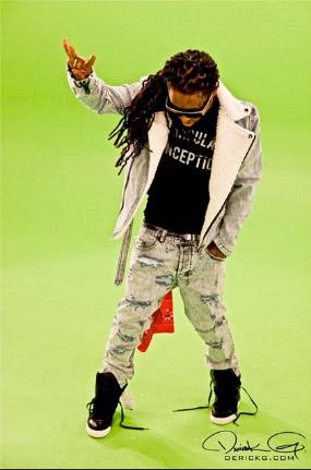Lil Wayne in Joyrich jacket