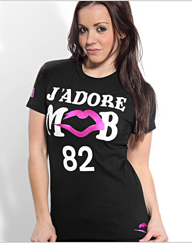 Married-To-The-Mob-black J'adore MOB Tee