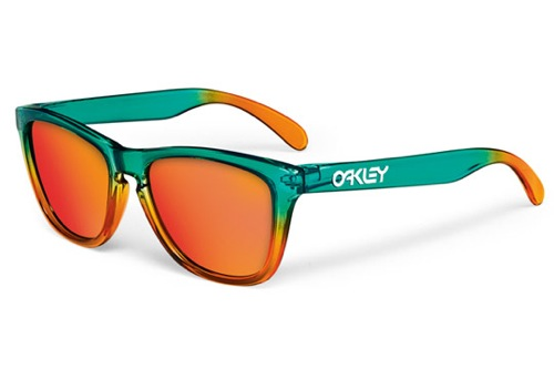 Oakley-Flora-Fire-Fade-Frogskins