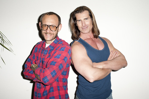 Back-to-Back posing with FABIO