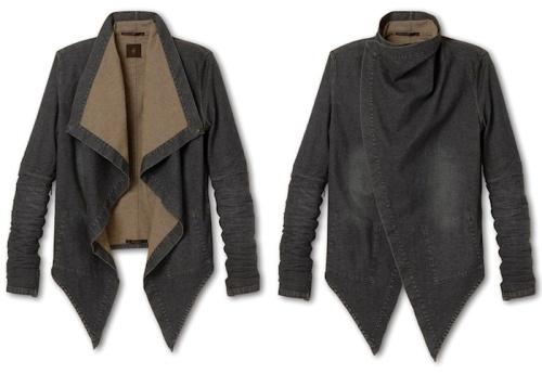 Ato's 2way swallowtail denim jacket
