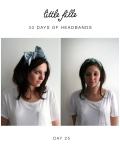 Little Fille 30 Days of HeadbandsDays - Day 25