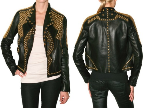 Givenchy-gold-studded-leather-jacket