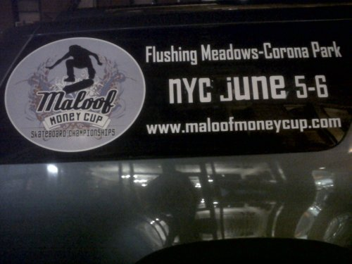 Maloof Money Cup - Truck closeup