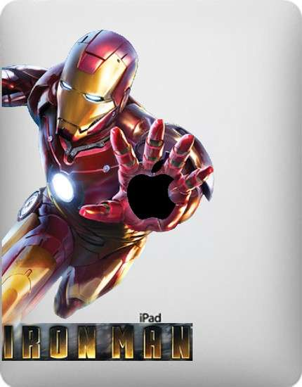 iPad decals - Iron Man