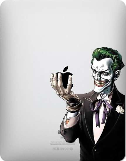 iPad decals - Joker