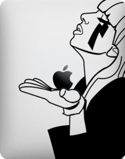 iPad decals - Lady Gaga