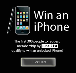 win an iphone, sign up