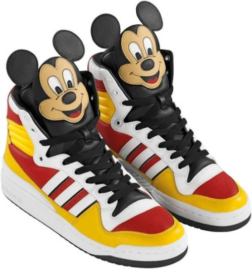 adidas by Jeremy Scott Mickey Mouse Shoes