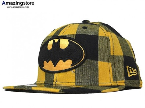 New Era x DC Two Tone Plaid: Batman