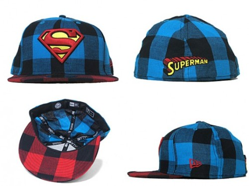 New Era x DC Two Tone Plaid: Superman