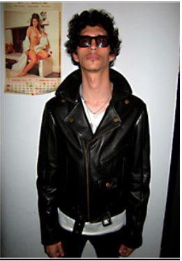 the cast leather jacket