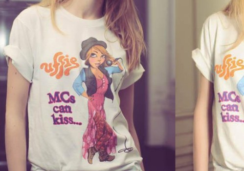 Uffie x Fafi MCs Can Kiss T Shirt