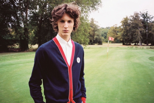 kitsune, golf club, country club, preppy clothes