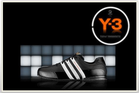 Adidas Y-3 QASA SANDAL Black Bodega